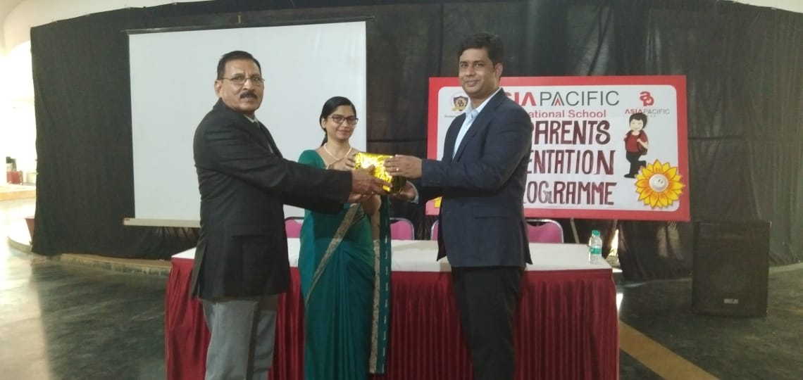 Dr  Manish Borasi Invited as chief guest at Asia pacific